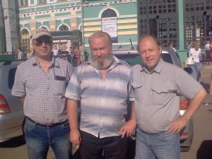 поездка на Байкал Вокзал-Иркутск RZ0SR, UA9OA, RA9OEL