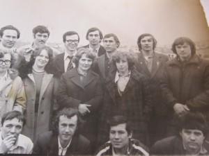 Товарищи и друзья  на коллективке НГТУ (rw9owd);  (НЭТИ uk9oad) 1980 -1990 гг.