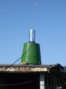 Антенна быстрого развертывания 144&430 mHz  2009 год