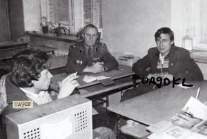 UA9OF, RW9OA, UA9OKL в радио классе на Планировочной-5