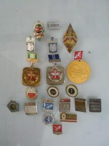 История в радио символах (значки, полученные с радио детства по новейшее время (наша эра).