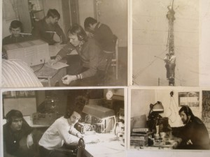 Рабочие моменты  в соревнованиях  на антенных бескрайних полях  (Uk9oaa  и uk9oad)